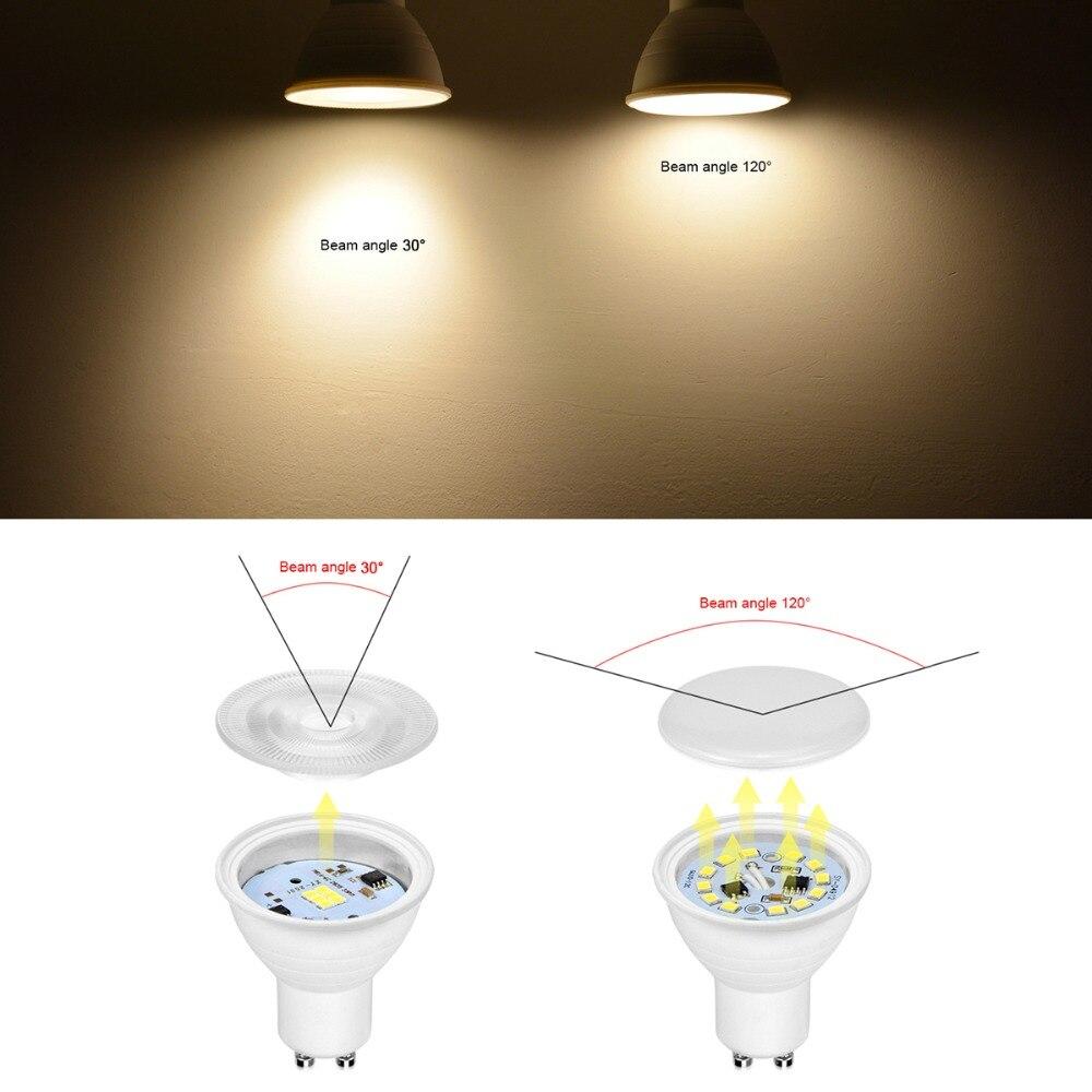 Výsledek obrázku pro beam angle led light bulb