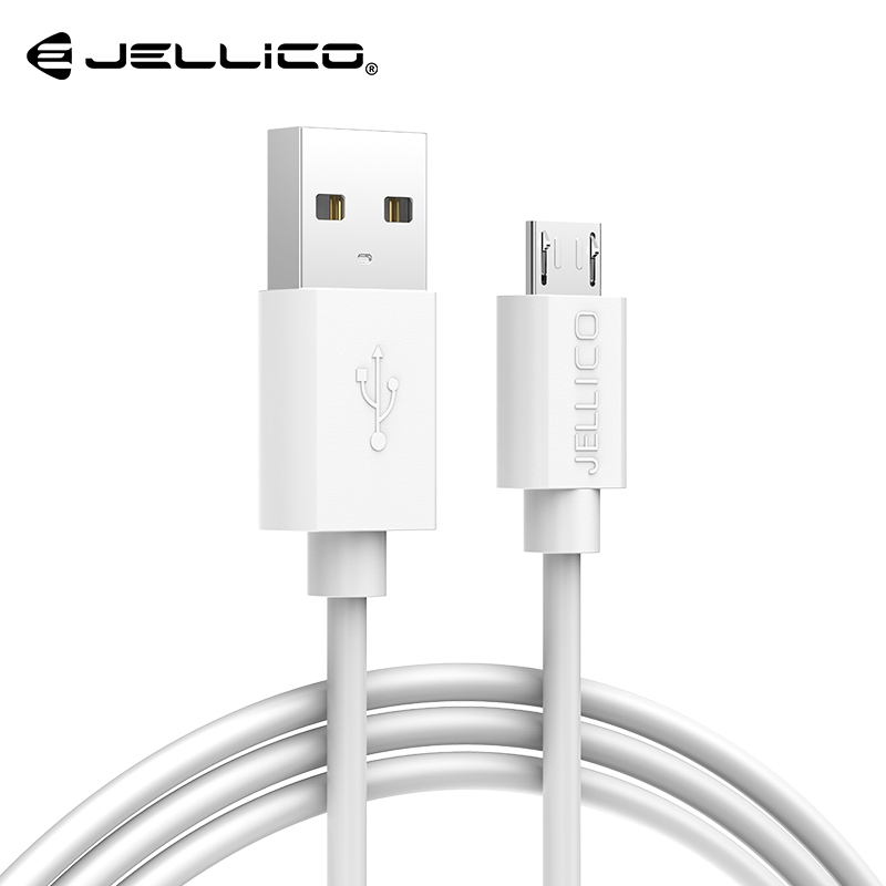Image 1 - Jellico Micro USB Cable 2A Fast Charge USB Phone Data Cable for Samsung Xiaomi Android USB Charging Cord Microusb Charger Cable-in Mobile Phone Cables from Cellphones & Telecommunications