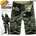 High Quality 2016 Summer Hot Style Men Baggy Short 100% Cotton Army Military Tactical Camouflage Desert Jungle Shorts Plus Size