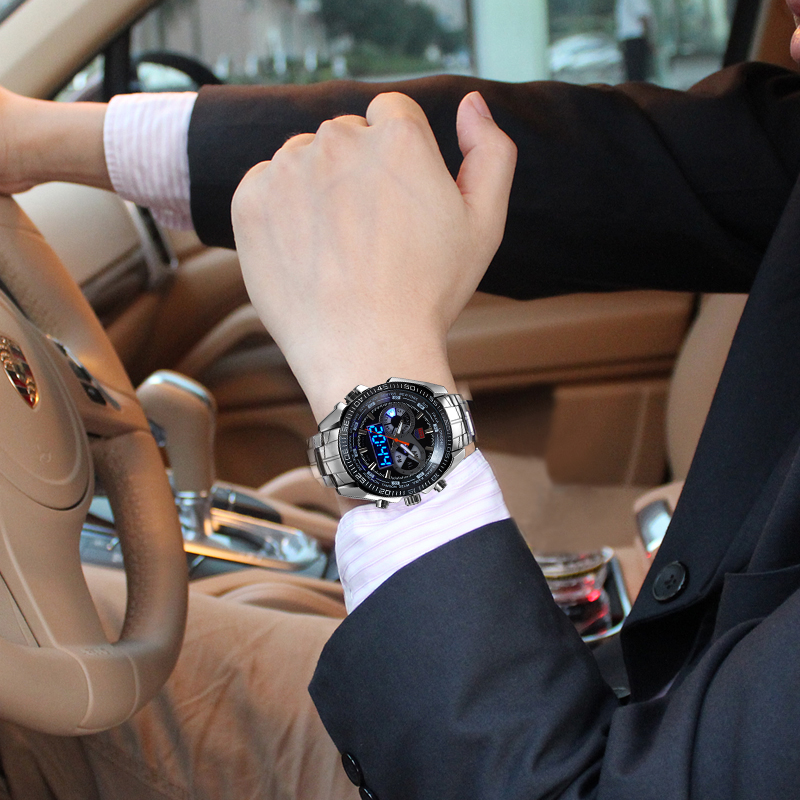 TVG-Male-Sports-Watch-Men-Full-stainless-steel-waterproof-Quartz-watch-Digital-Led-Analog-Dual-display (2)