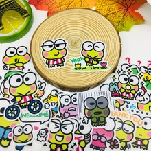 40 Pcs/lot Anime cute frog Scrapbooking Stickers  Car Case Waterproof Laptop Bicycle Notebook Backpack waterproof Sticker