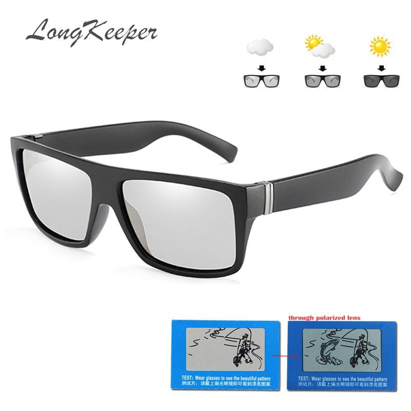 371e753acdfa2 LongKeeper 2019 HD Óculos Polarizados Fotocromáticas Óculos De Sol Das  Mulheres Designer de Marca Óculos de