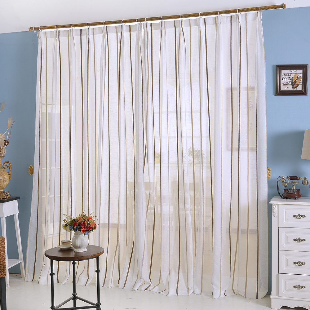 Striped Bedroom Curtains Compare Prices On Striped Panel Curtains Online Shopping Buy Low