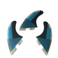 Surfboard fin FCS2 G5 Honeycomb fins Tri fin set FCSII G5 fins Fibreglass base 3pcs per set