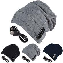 High Quality 3 Colors Warm Thicken Beanie Hat Wireless Bluetooth Smart Cap Headset Headphone Speaker Mic Bluetooth Hat