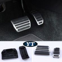Auto gas accelerator pedal, footrest and brake pedal for VOLVO S40 S60 V60 S80L XC60 S60L, free shipping,auto accessories
