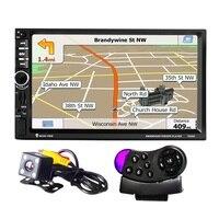 Clearance 7021G 2Din 7 Inch 720P HD Screen Car MP5 Player Bluetooth FM Radio GPS European