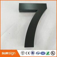 Новый 304 Нержавеющая сталь буквы и номера домов