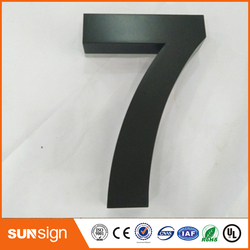 H 20cm New 304 stainless steel letters and house numbers