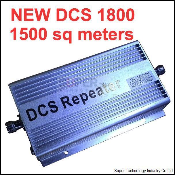 DCS repetidor 2104 nueva ganancia modelo de función de visualización LCD 60dbi 1800 Mhz DCS teléfono móvil amplificador de señal y repetidor