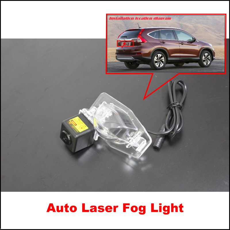 For Honda CRV CR-V 2007~2010 / Car Lights,Rain,Snow, Fog Lights Vehicle Collision Warning Safety Laser Super Bright