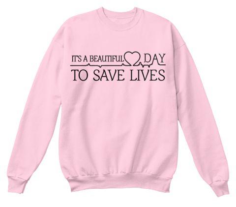 """""""seine Ein Schöner Tag Zu Retten"""" Greys Anatomie Sweatshirt Frauen Langarm-shirt Tumblr College Crewneck Rosa Pullover"""