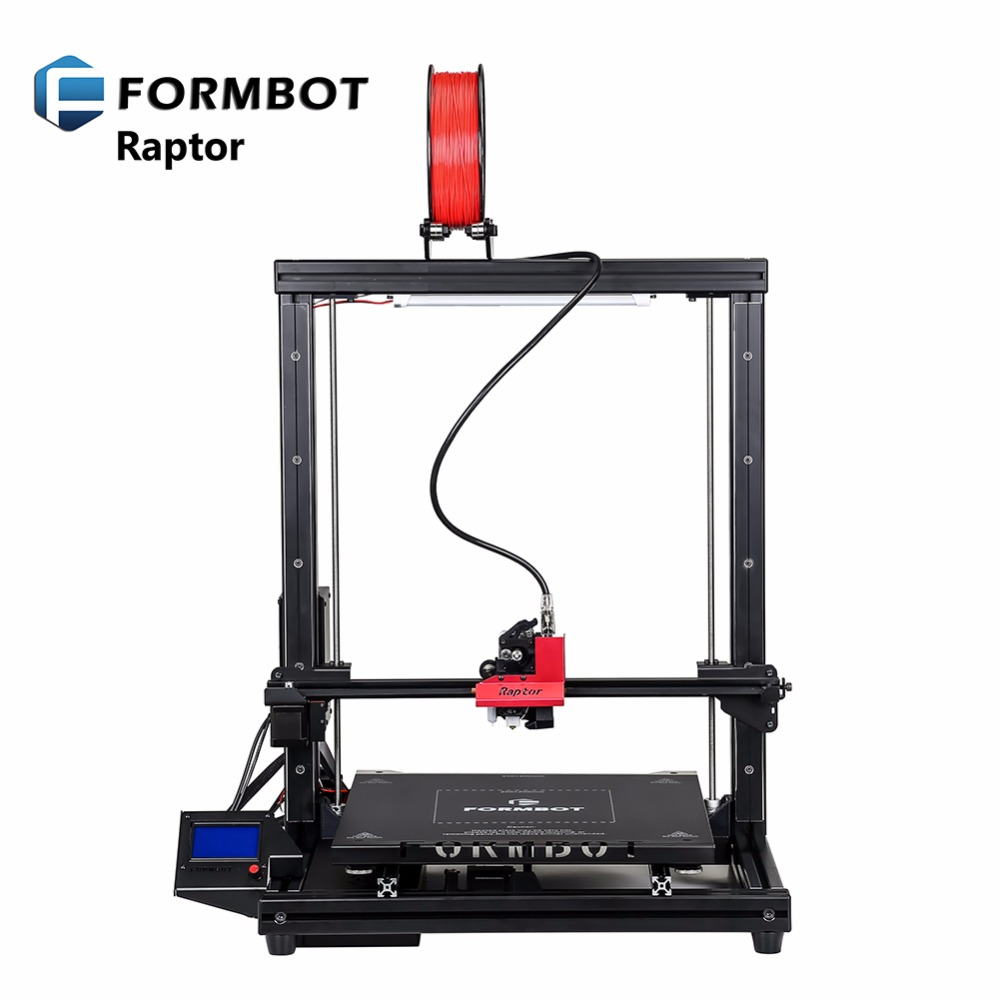 FORMBOT Raptor 400x400x500mm big size 3d printers with hotbed single extruder easy operating