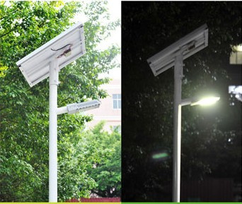 New LED street light 24w DC12V with intelligent PWM dimming solar controlle for solar energy power supply street lighting system
