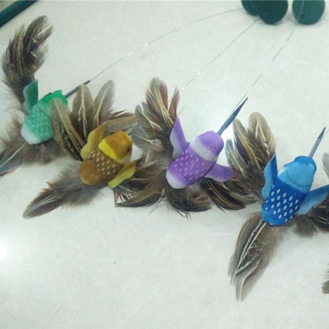 Solar Powered Flying Hummingbird Garden Decoration