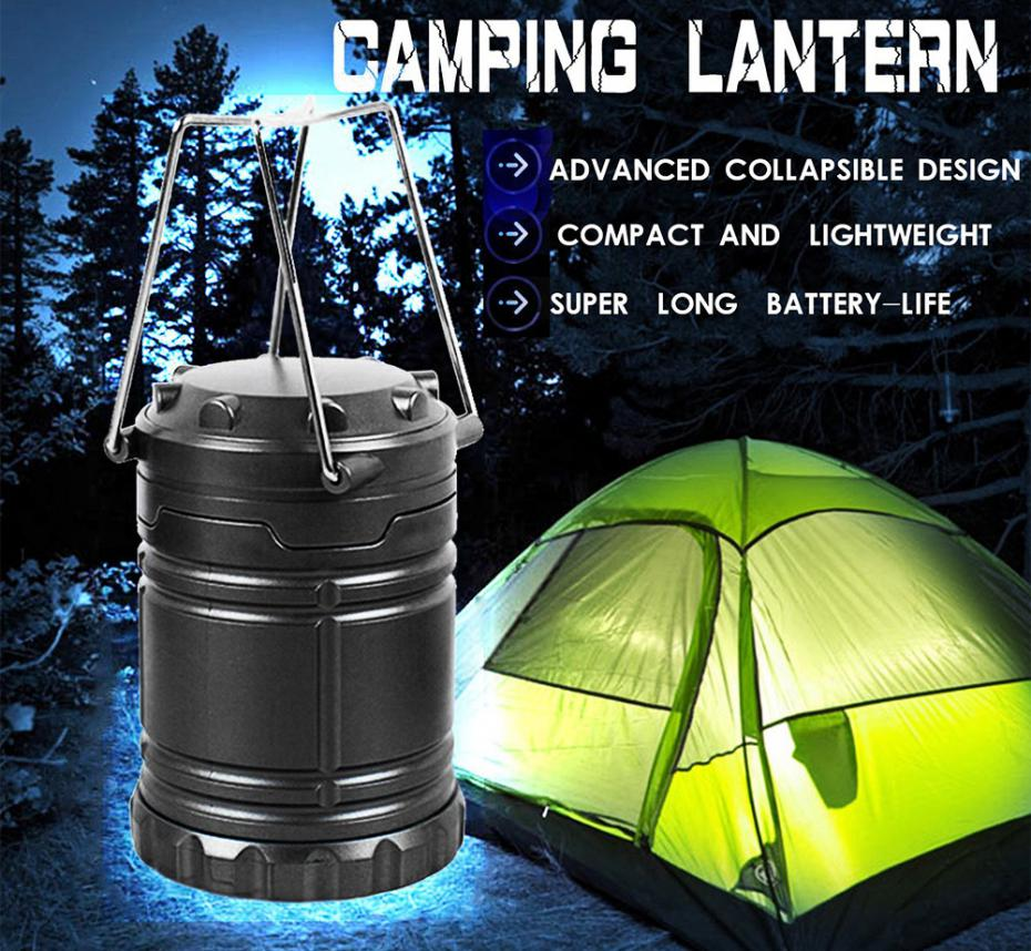 Ultra Bright Collapsible 30 LED Camping Lanterns Lights for Outdoor Hiking Camping Backpacking Fishing Emergencies Protable Lamp