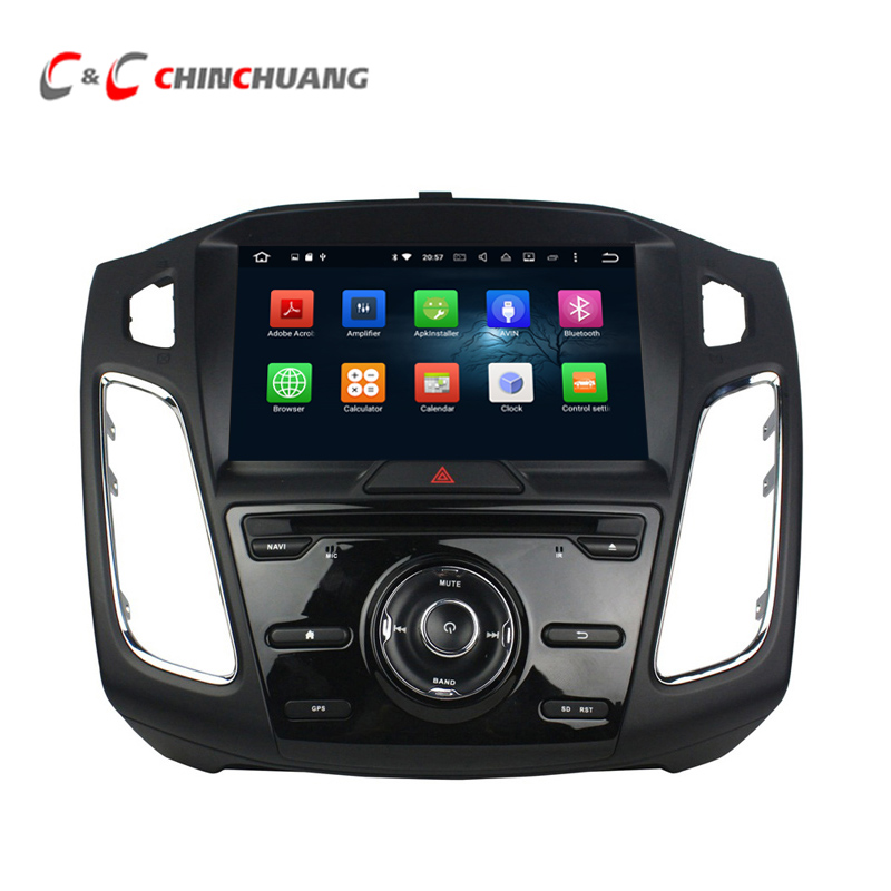 Updated 4G RAM Octa Core Android 8.0 Car DVD Player for Ford Focus 3 2012-2017 with GPS Navi Radio WiFi, Support OBD SWC DAB+