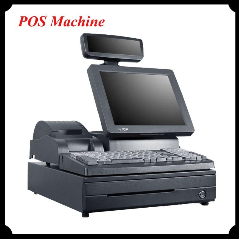 1pc Cash Register POS Machine Cash Registers VTOP183