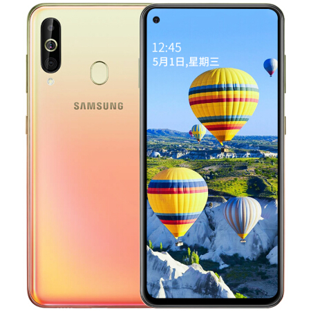 Samsung Galaxy A60 A6060 LTE Mobile Phone 6.3 6G RAM 128GB ROM Snapdragon 675 Octa Core 32.0MP+8MP+5MP Rear Camera Phone image