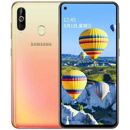 "Samsung Galaxy A60 A6060 LTE téléphone portable 6.3 ""6G RAM 128GB ROM Snapdragon 675 Octa Core 32.0MP + 8MP + 5MP téléphone caméra arrière"