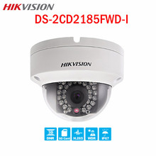 Hikvision HD 8MP CCTV Dome Camera DS-2CD2185FWD-I POE H.265 30m IR WDR SD card IK10 IP67 Night Version Surveillance IP camera