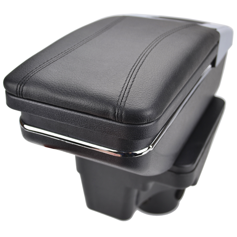 Image 4 - Arm Rest For Kia Rio 4 2017 2018 2019 X Line Center Centre Console Storage Box Armrest Rotatable Leather Car Styling-in Armrests from Automobiles & Motorcycles