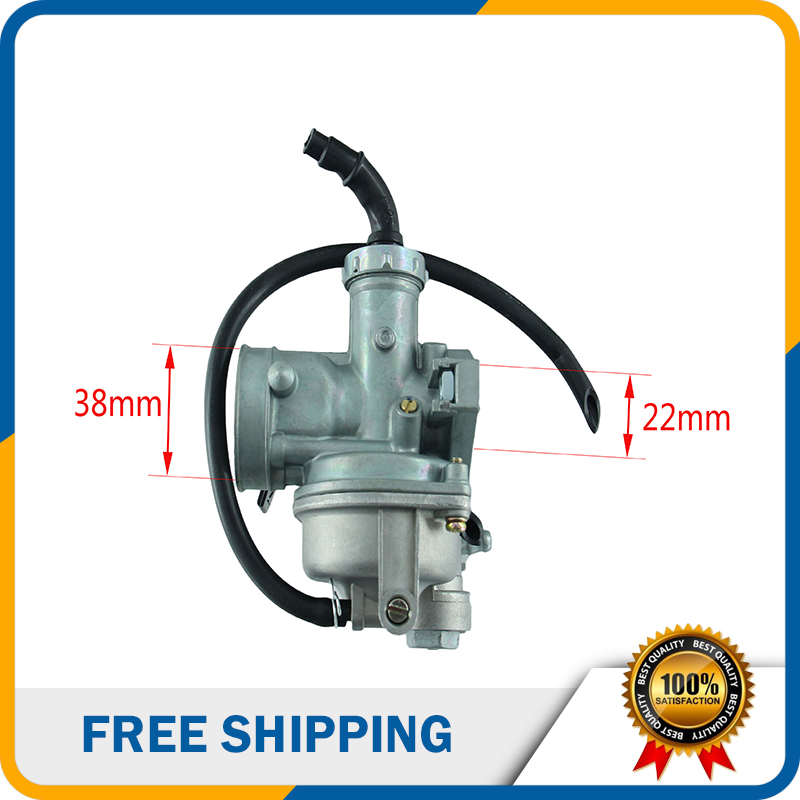 KEIHIN Carburetor Hand Choke PZ22 22mm Carb Carburetor For 125cc Motorcycle  Pit Dirt Bike ATV Quad Motocross HK 137-in Carburetor from Automobiles &