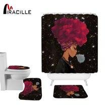 Miracille Модный женский комплект из полиэстера для занавесок