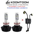 K7S LED Canbus Error Free 8000LM 80W H11 H8 LED Headlight Car 9005 9006 9004 9007 H4 H7 LED Bulb for Car LED Headlight
