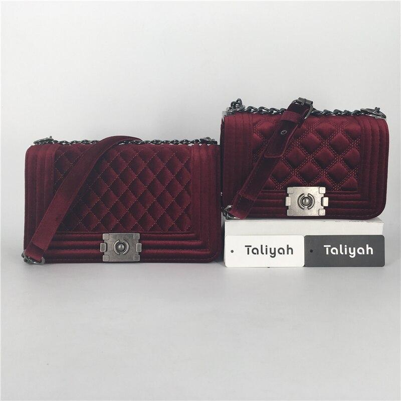 taliyah mulheres bolsas atravessadas marca Small Bag Size : 20cm * 10cm * 13cm (comprimento * Width * Altura)