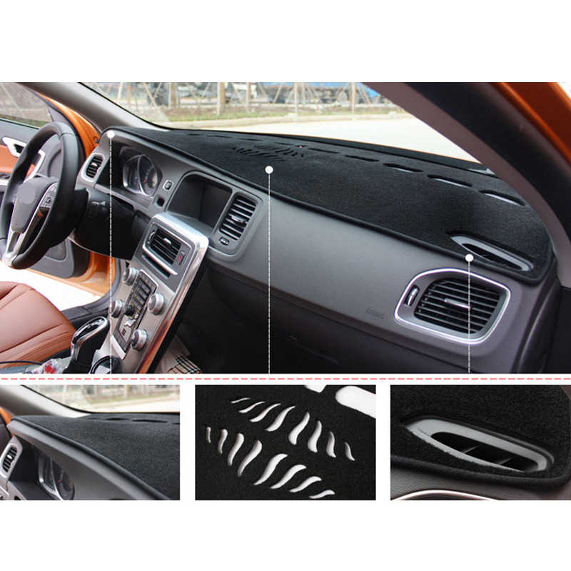 APPDEE รถ Auto ภายในแผงหน้าปัด Dashmat พรม Cape สำหรับ Chevrolet Spark 2013 2014 2015 บังแดด Dash MAT Anti- สกปรก