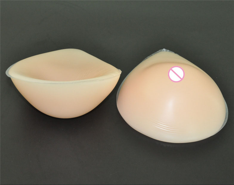 купить 1pair 900g C cup Beige Woman silicone artificial breast forms fake Boobs Insert bra Pads Enhancer for cross dresser Mastectomy по цене 3310.8 рублей