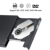 VICTSING NEW Black USB 2.0 Combo CD DVD-R Burner Drive Óptico CD-RW DVD ROM Externo para o Windows 2000/XP/Vista/7, MAC os