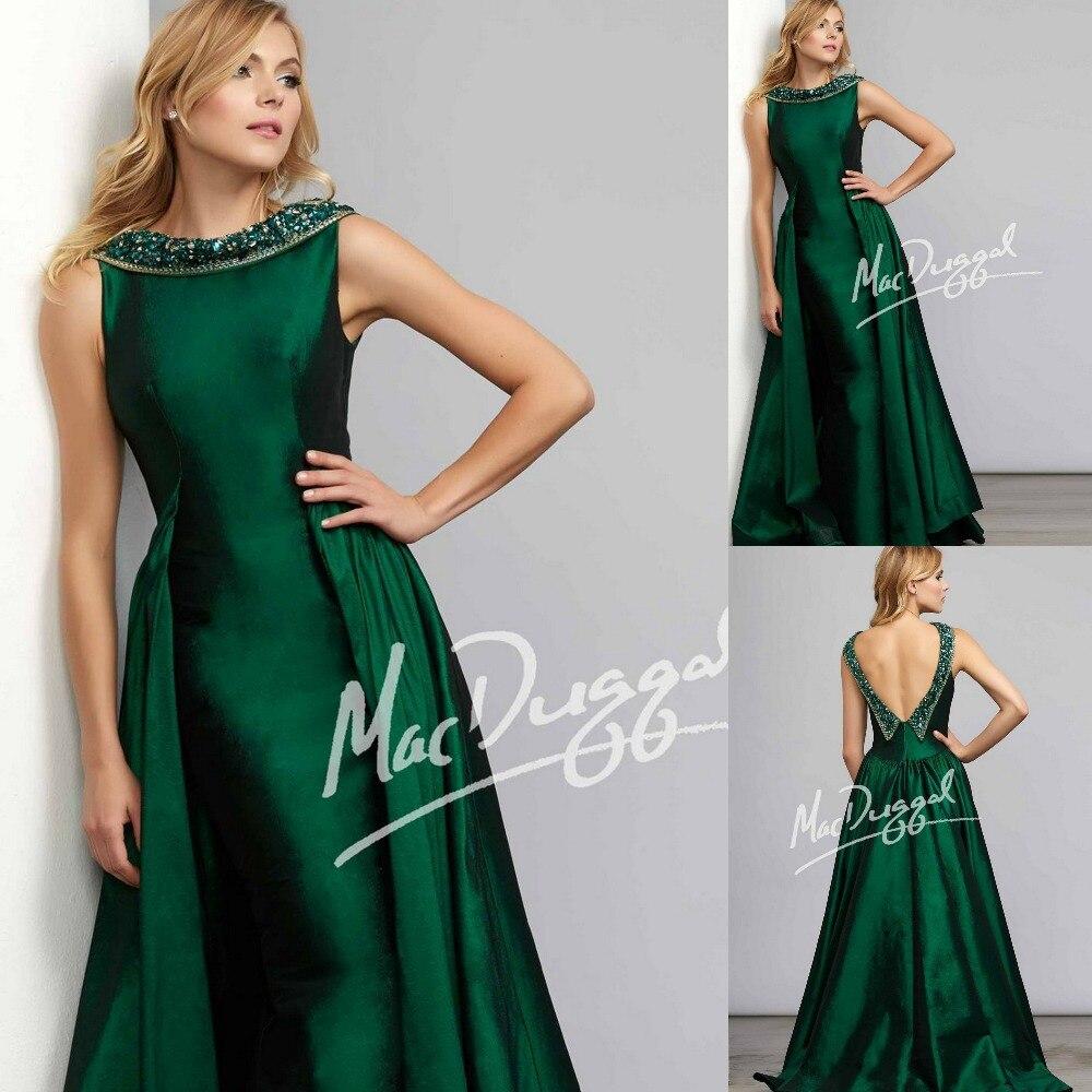 Vestido verde esmeralda en venta