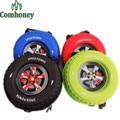 Kids Backpack for Boys 3D Creative Wheel Bag for Children's School Backpack for Girls Animation Car Tire Schoolbags Shoulder Bag