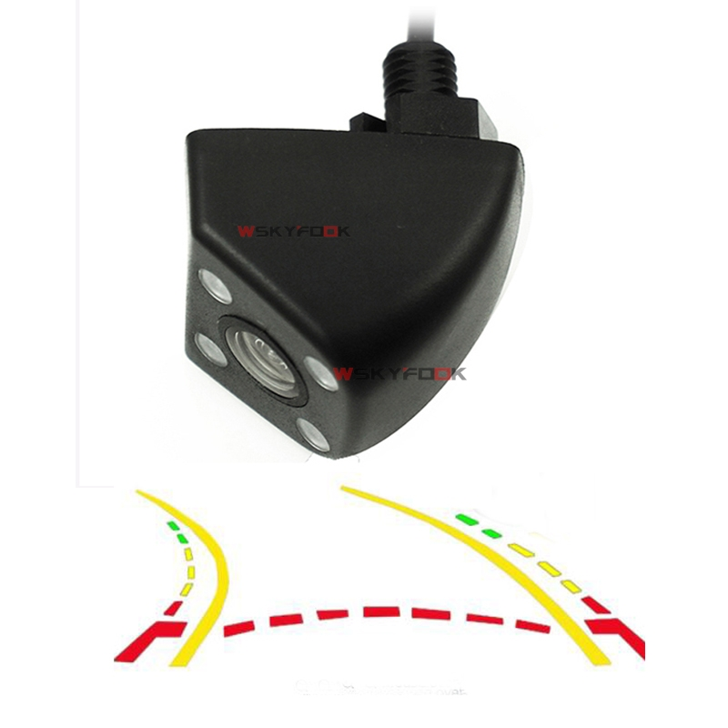 Intelligent Dynamic Trajectory Tracks Rear View Camera HD CCD Reverse Backup Camera Auto Reversing Parking Assistance dynamic trajectory tracking auto backup parking reverse camera rearview rear view reversing parking camera for ford focus 2012