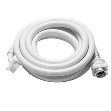 Washing Machine Inlet Hose Tube Pipe 5M Length White 1pc 200cm washing machine inlet pipe pvc universal automatic home appliance parts durable quality
