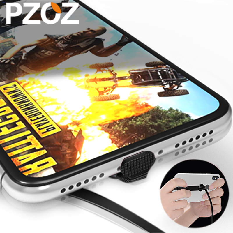 pzoz Cable for apple iphone 6 7 8 plus x usb Chargers fast Cs