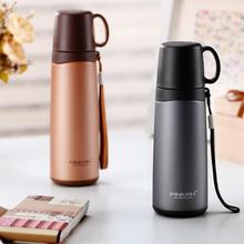 PINKAH Thermos 304 Stainless steel Double Wall Coffee Mug Thermal Cup Travel Water Vacuum Bottle Office 24PCS 420ML 500ML