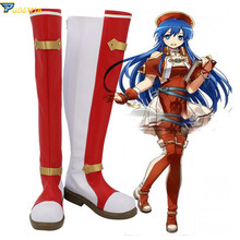 Fire Emblem The Binding Blade Lilina Cosplay Shoes Custom Made Boots custom made fire emblem if hinata cosplay costume