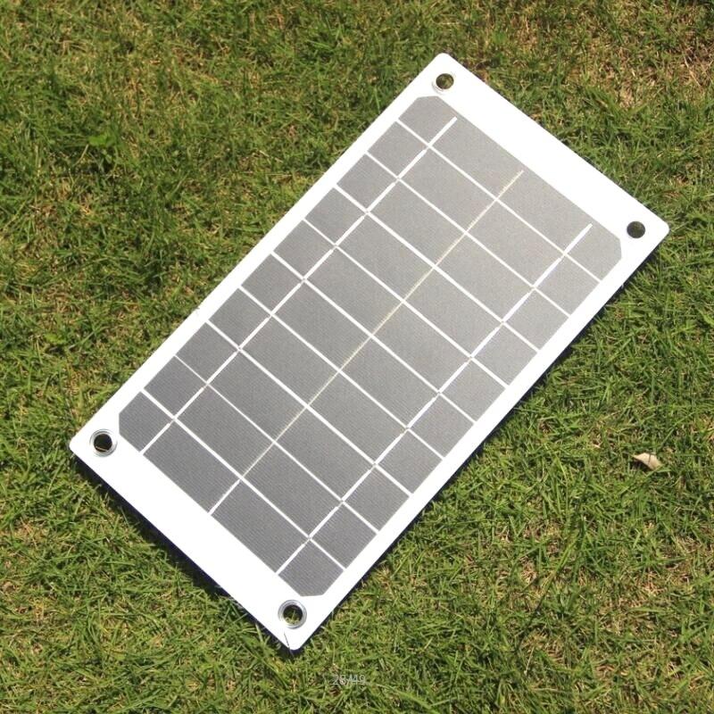 BUHESHUI 7.5W 5V Portable Solar Panel Charger Outdoor USB Digital ...