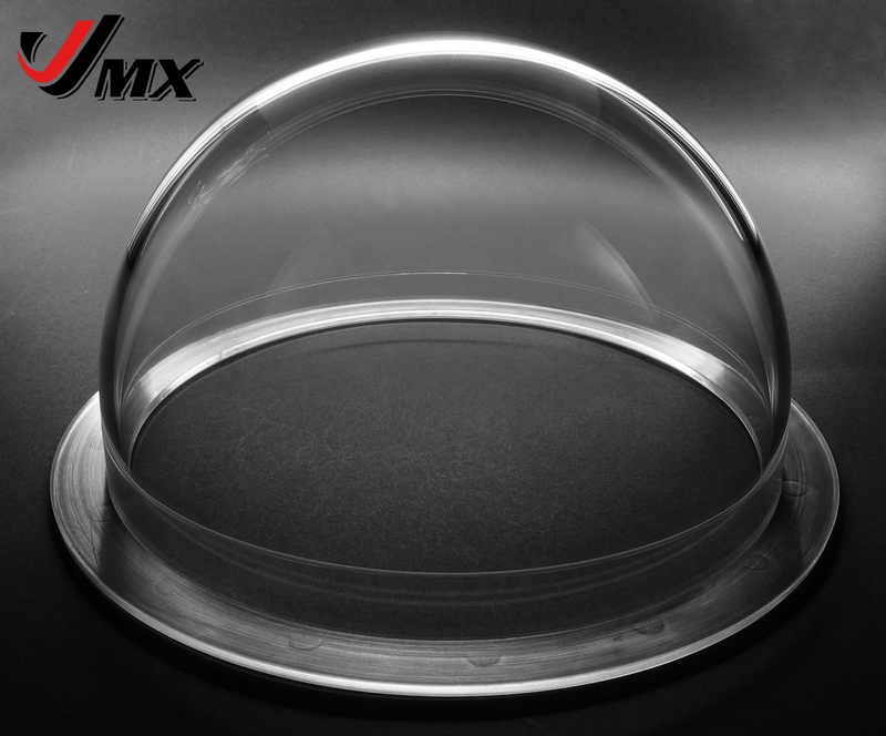 JMX 6.2 INCH Acrylic Indoor / Outdoor CCTV Extended Replacement Clear Camera Dome Housing