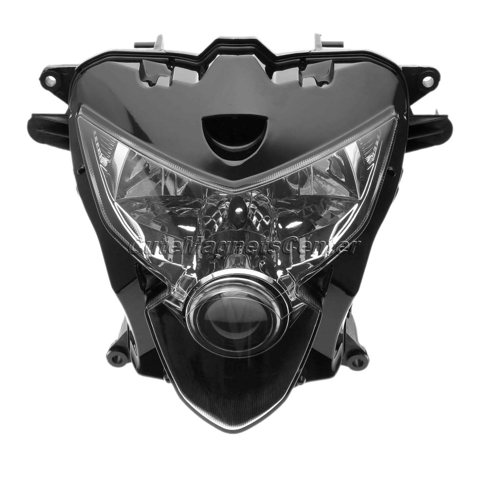 1X ABS Motorbike Headlamp Lighting Motorcycle Headlights Head font b Light b font Lamp Assembly For
