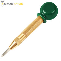Auto Center Punch Spring Loaded Glass Crushing Hand Tool With Grip Adjustable Impact Perfect For Metal