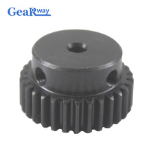 Gear Wheel Pulley 1Module 30T 45Steel Rc Pinion Gears 5/6/6.35/7/8//12/12.7/14mm Bore Mould 1 30Teeth Spur