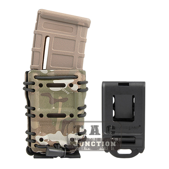 Emerson Tactical MOLLE  Belt Scorpion M4  AR15 556 5.56 .223 Magazine Pouch Multicam Adjustable Holster Mag Carrier Case belt