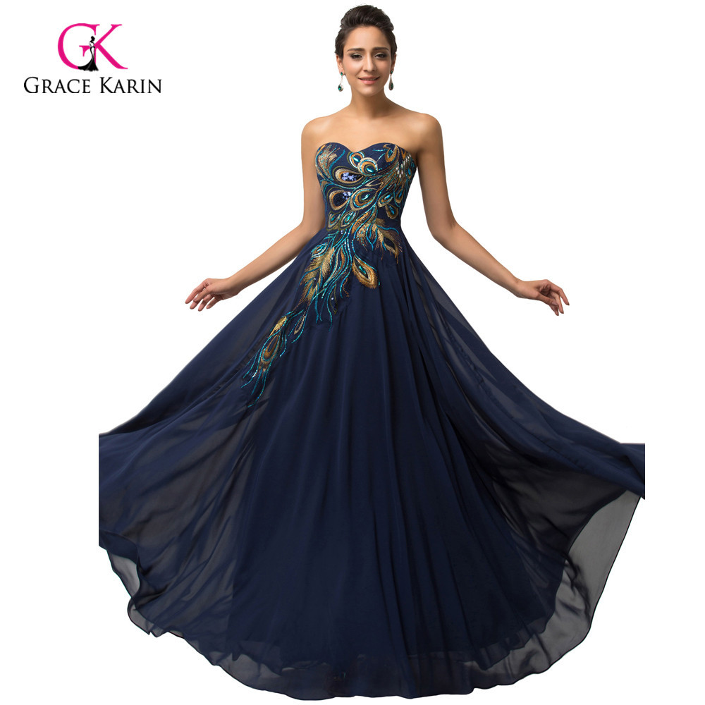 Evening Gowns Dresses Peacock
