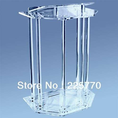 Church Acrylic Podium/Acrylic Pulpit / Crystal Acrylic Church Lectern / Perspex Pulpit