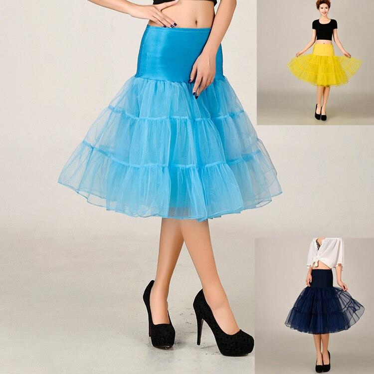 Short Wedding Dress Petticoat Skirt Petticoats For Party Vestido De Noiva Crinoline Jupon Mariage Color In From Weddings