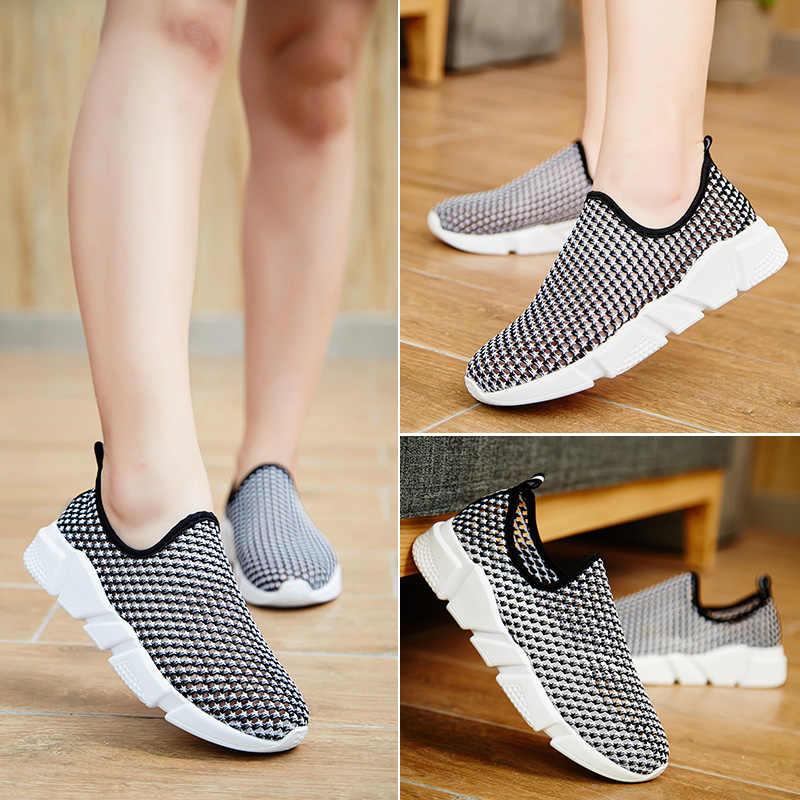 Socone/Женская прогулочная обувь; дышащая обувь из сетчатого материала; легкие женские лечебный фитнес-кроссовки на платформе